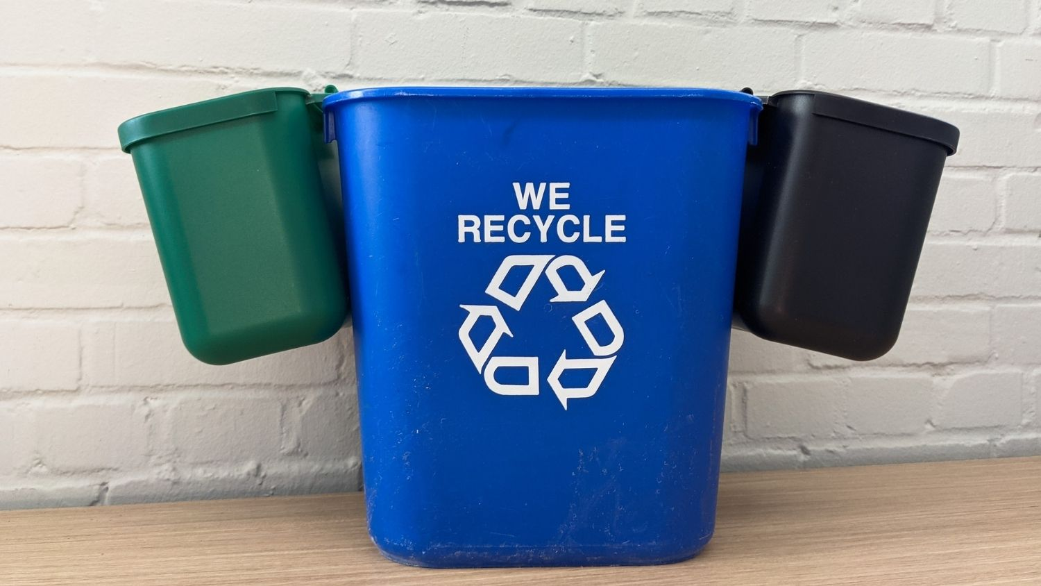 Recycling Bin - The College of Natural Resources is Now a Zero Waste Workplace, College of Natural Resources, minibins, feature - College of Natural Resources News NC State University