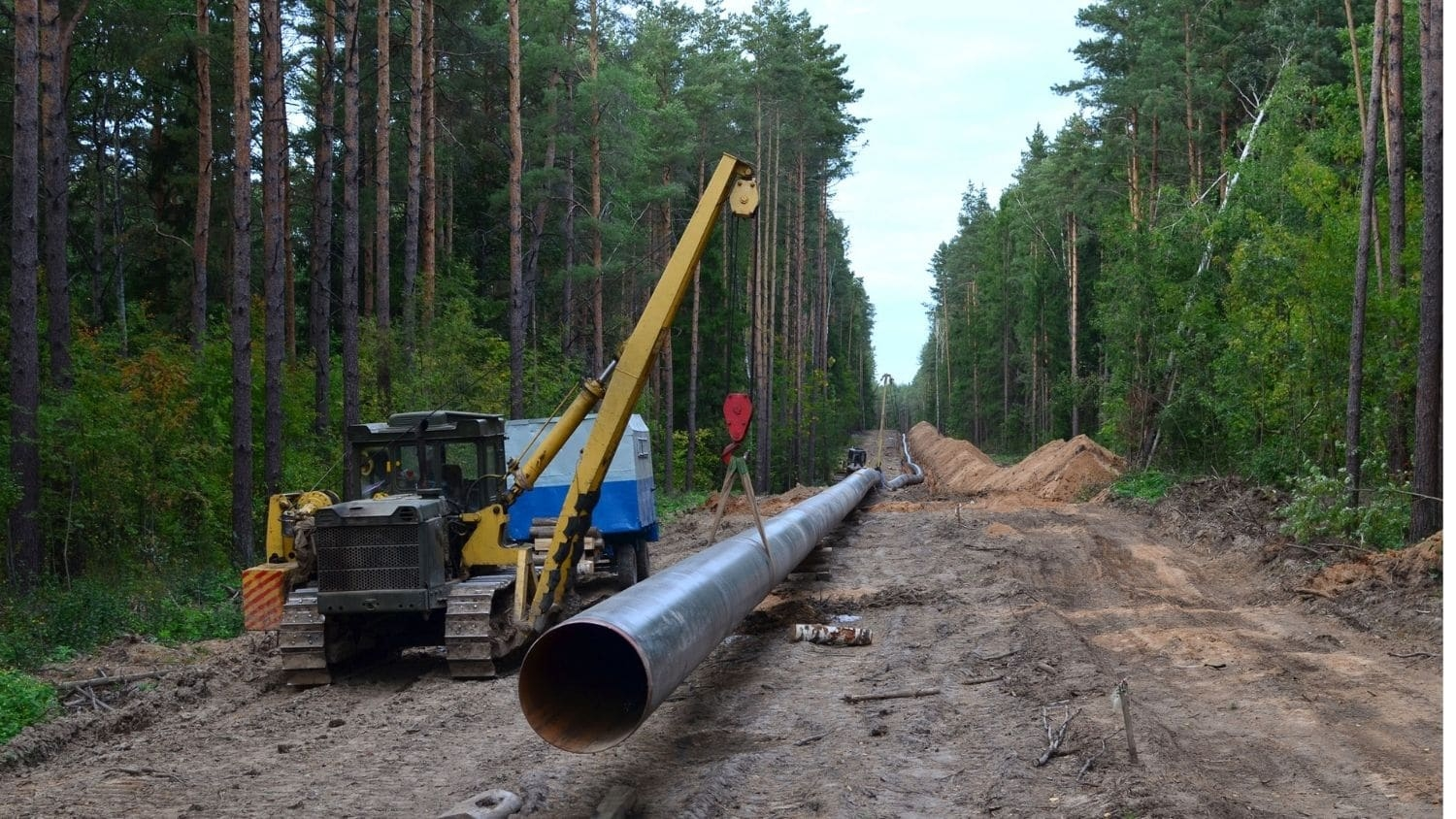 Natural pipeline construction - Natural Gas Pipeline Density Higher Overall in More Vulnerable U.S. Counties - College of Natural Resources News NC State University