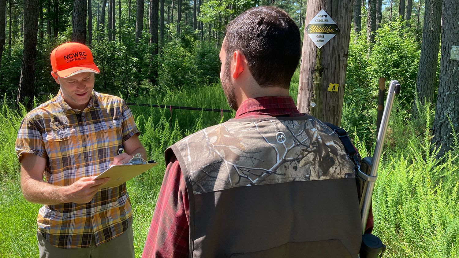 Research Project Outdoors - NC State Professor Named Natural Resources Scientist of the Year - College of Natural Resources News NC State University