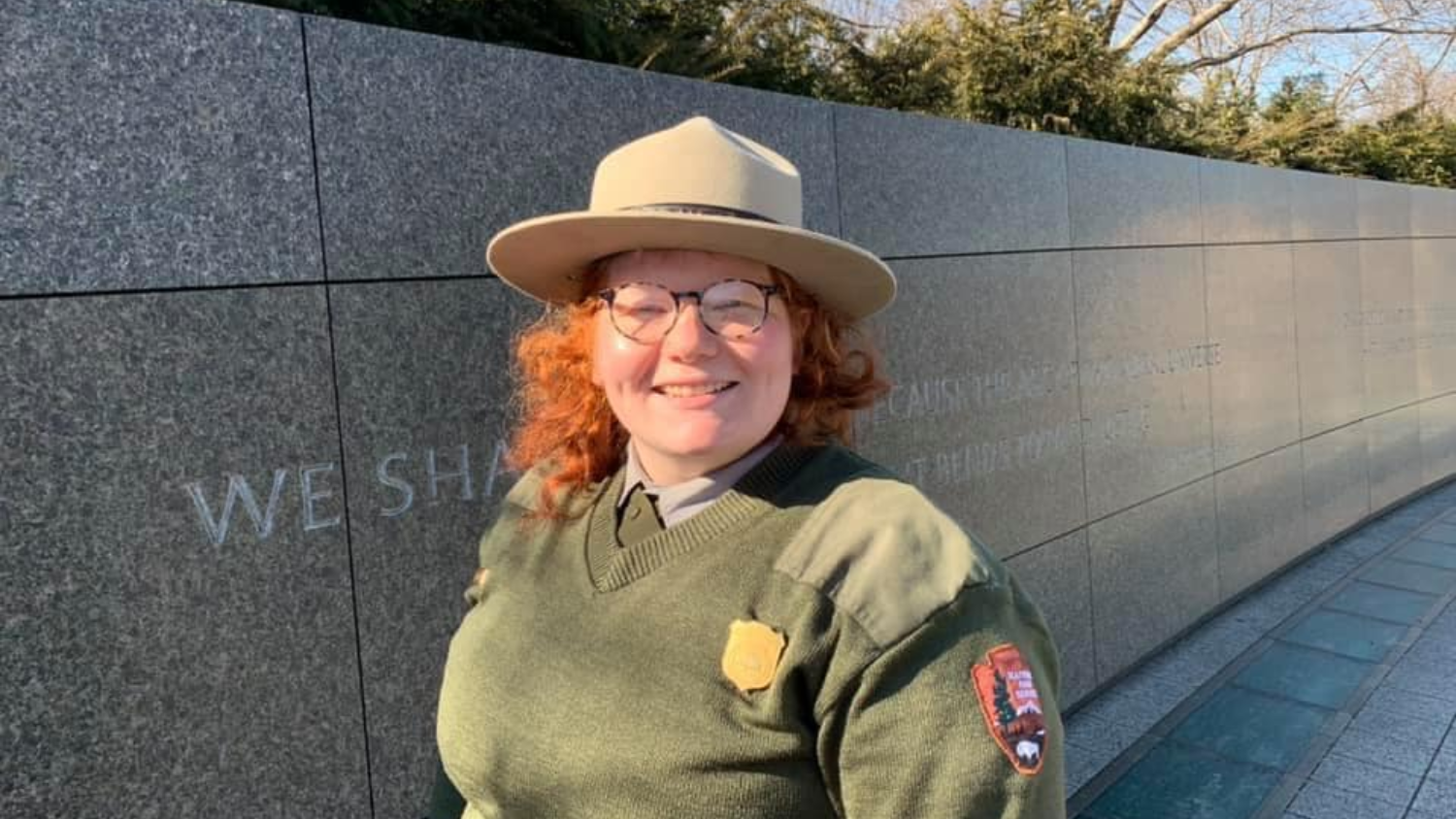 Taylor Richardson - Five Questions with National Park Service Guide Taylor Richardson - College of Natural Resources News NC State University