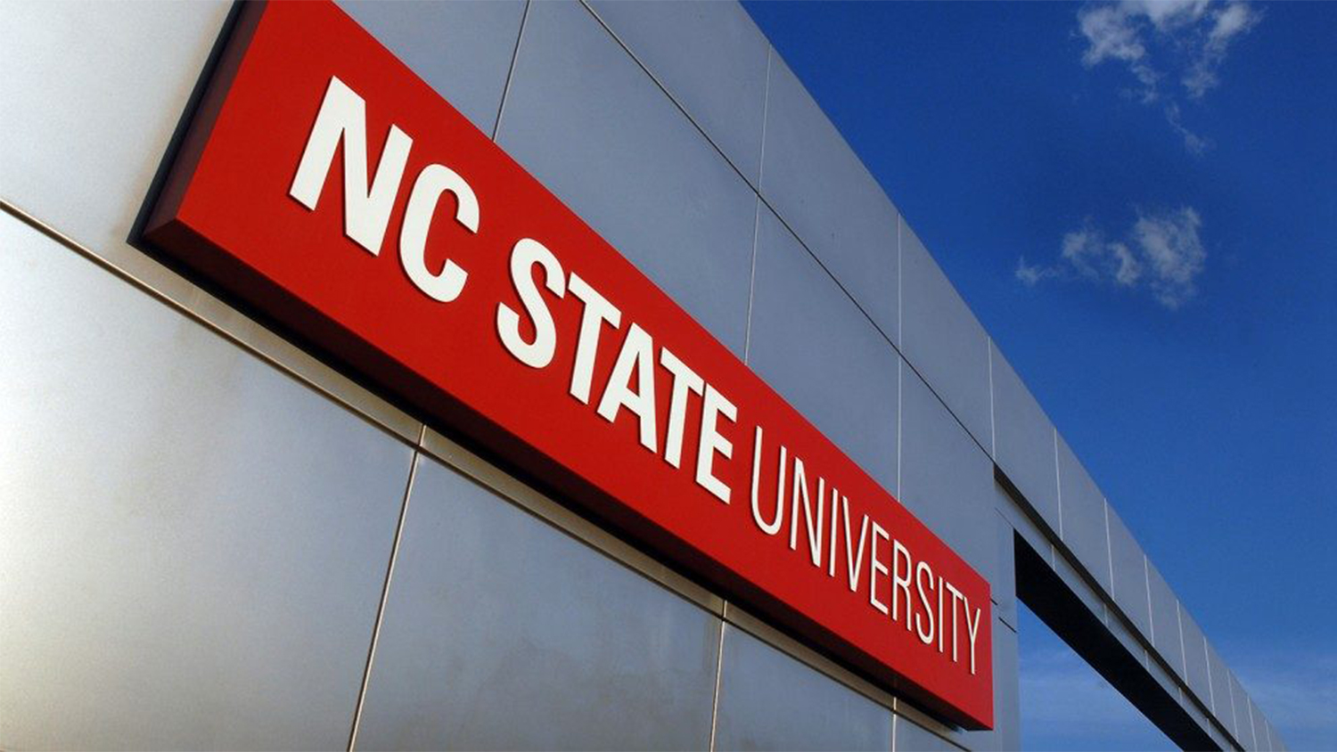NC State Sign - Parks Recreation and Tourism Management NC State