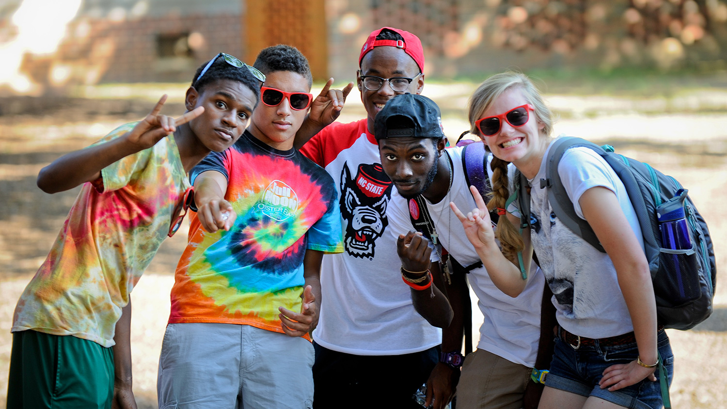 Group of Students - undergraduate -Parks Recreation and Tourism Management NC State