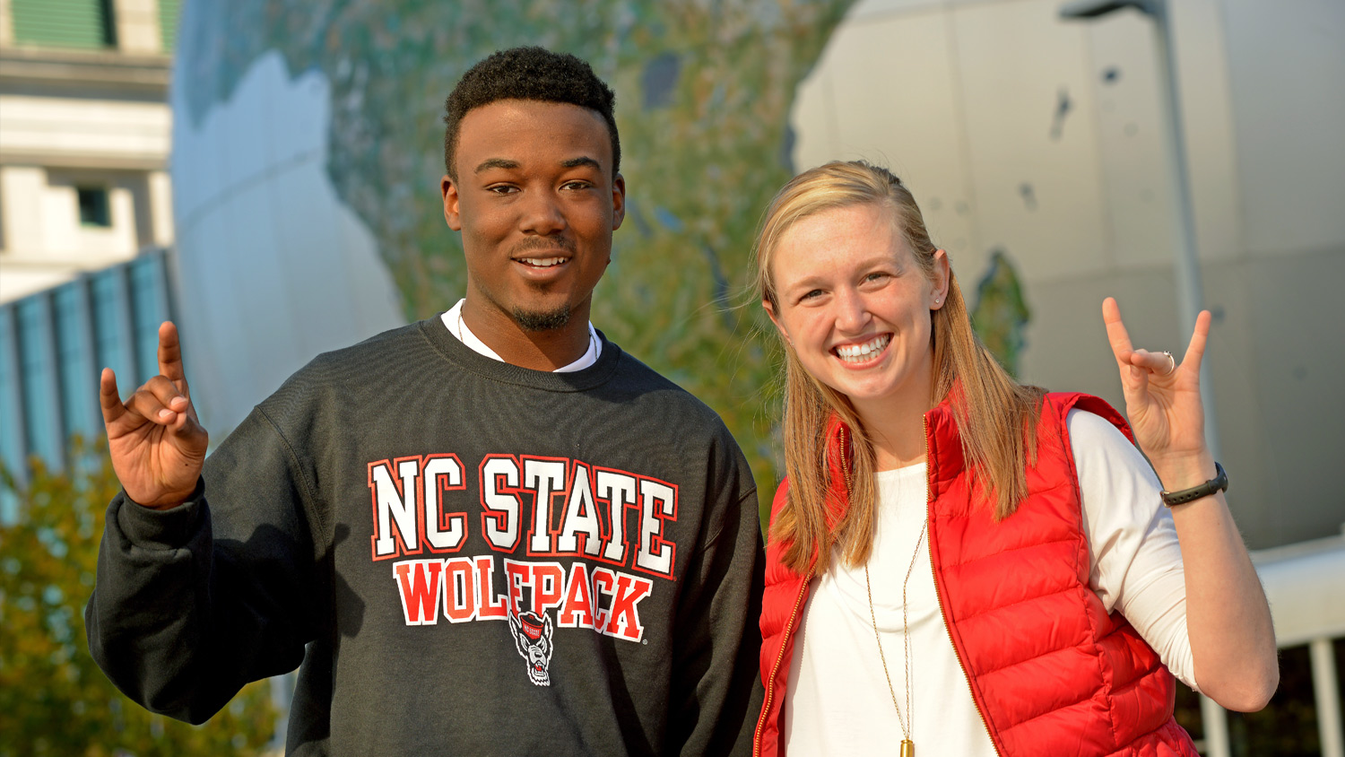 Wolfpack Pose - Undergraduate -Parks Recreation and Tourism Management NC State