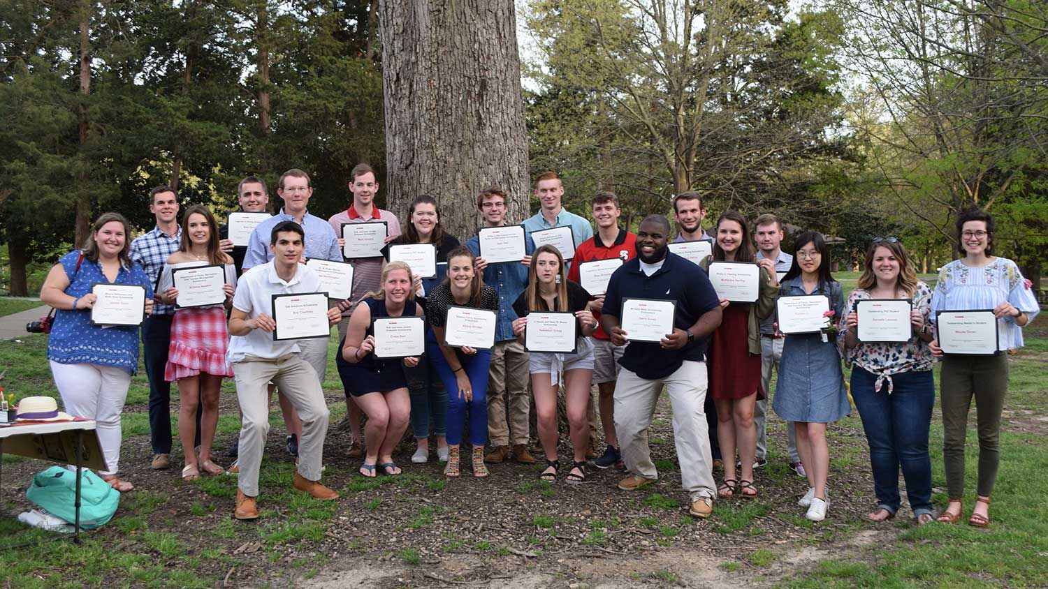 Student Scholars and Awards - Scholarships - Parks Recreation and Tourism Management NC State