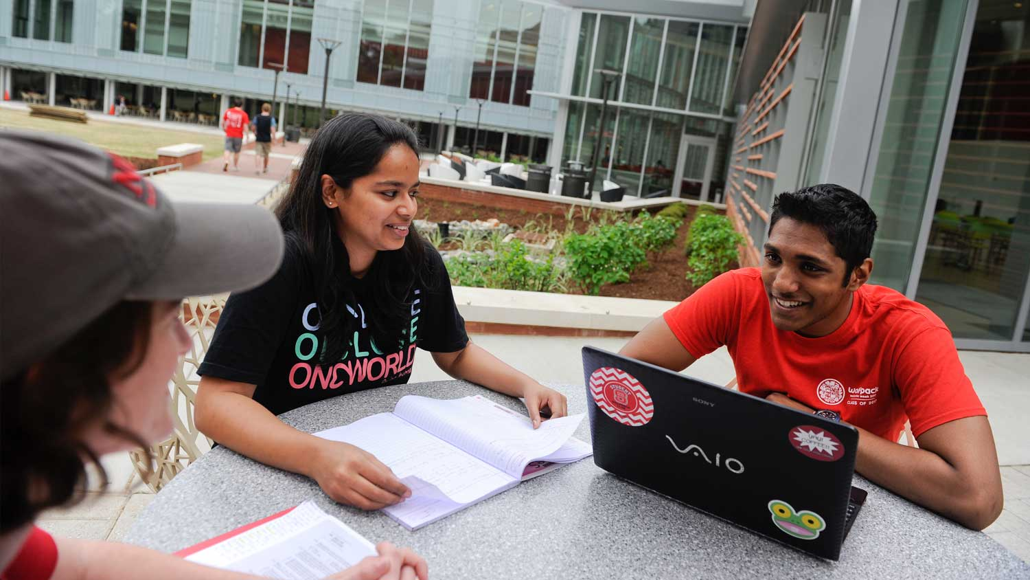 Students on Campus - Student Resources -Parks Recreation and Tourism Management NC State