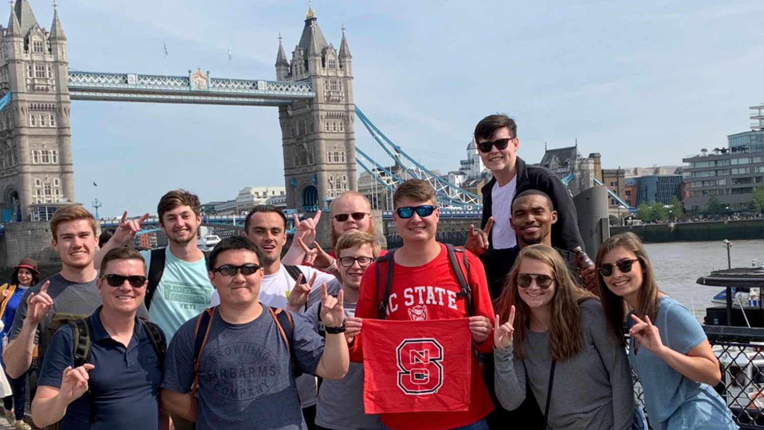 Students Studying Together Abroad - Study Abroad - Parks Recreation and Tourism Management NC State