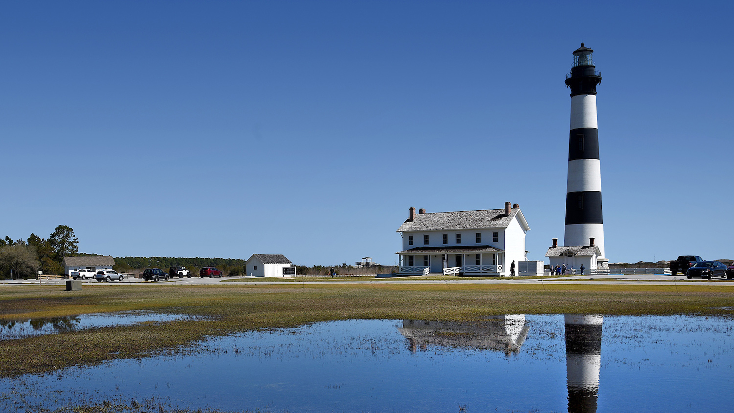 Lighthouse Next to a House - Areas of Research -Parks Recreation and Tourism Management NC State