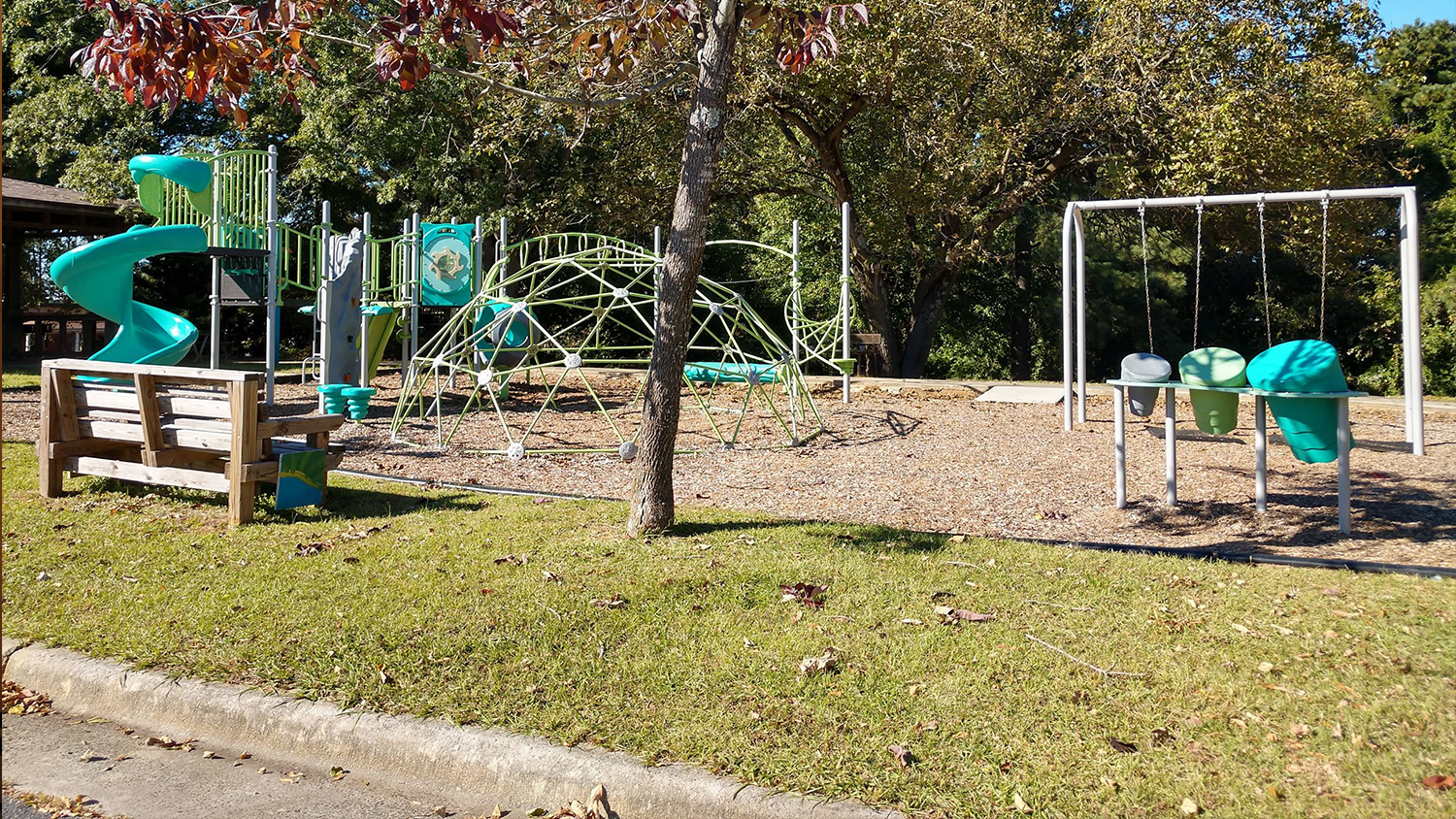 Playground Durham Park - Outdoor Recreation - Parks Recreation and Tourism Management NC State