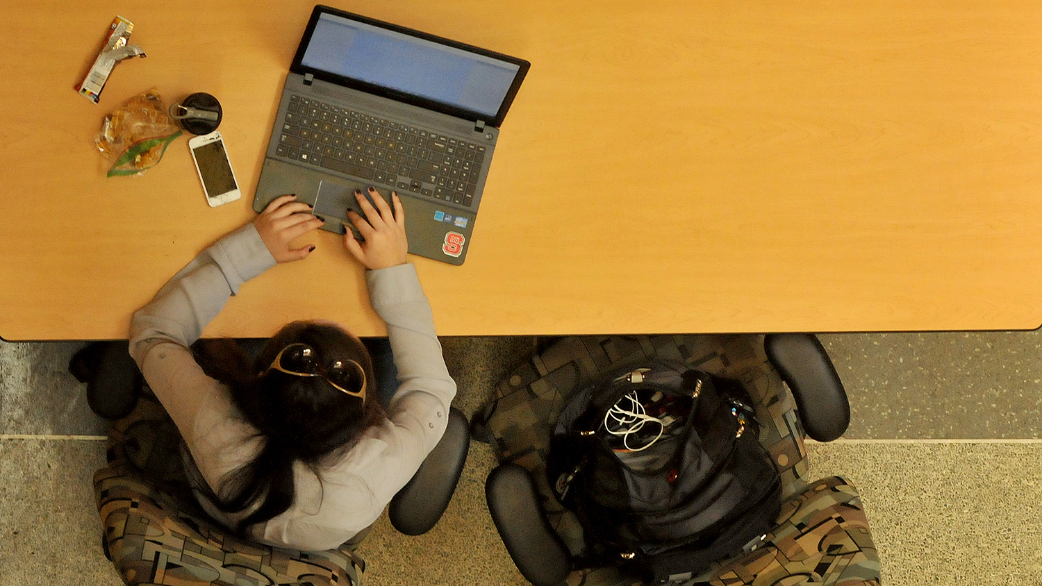 Student with a Laptop - Online Master's Degree - Parks Recreation and Tourism Management NC State