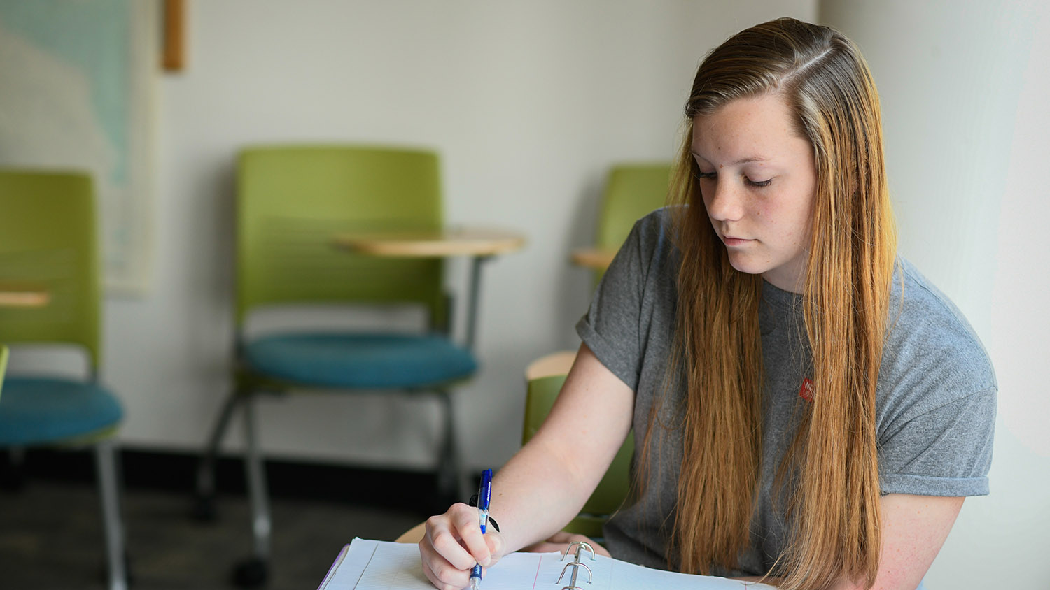 Student in a Classroom - About - Parks Recreation and Tourism Management NC State