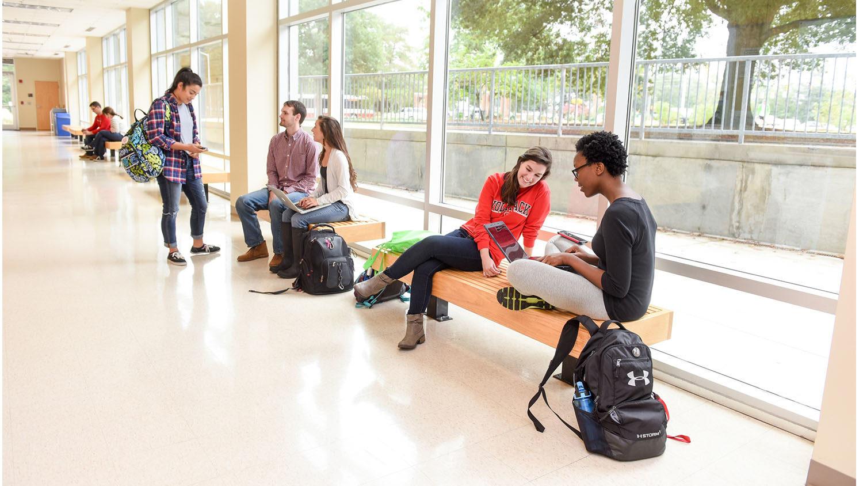 Students in Jordan Hall