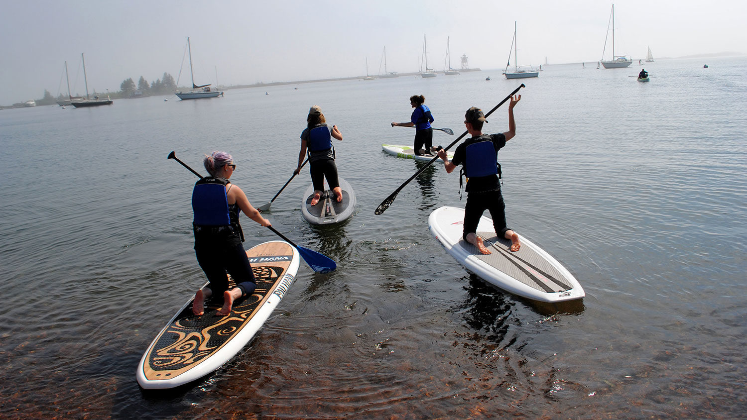 Paddleboarding - Professional Development - College of Natural Resources at NC State University