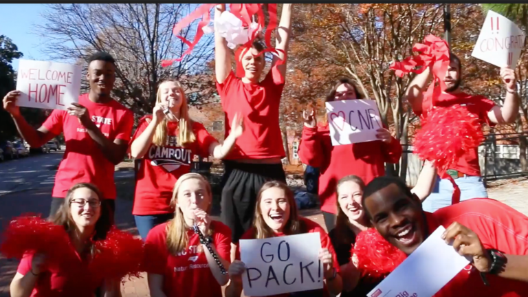 Current students welcome admitted students