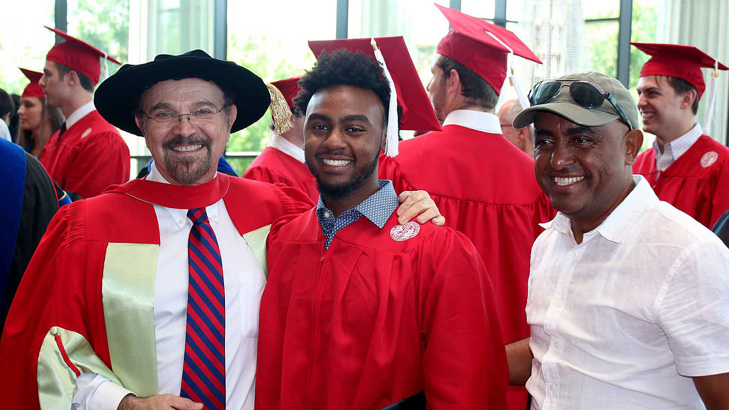 Red Cap and Gown - Admissions - College of Natural Resources NC State University