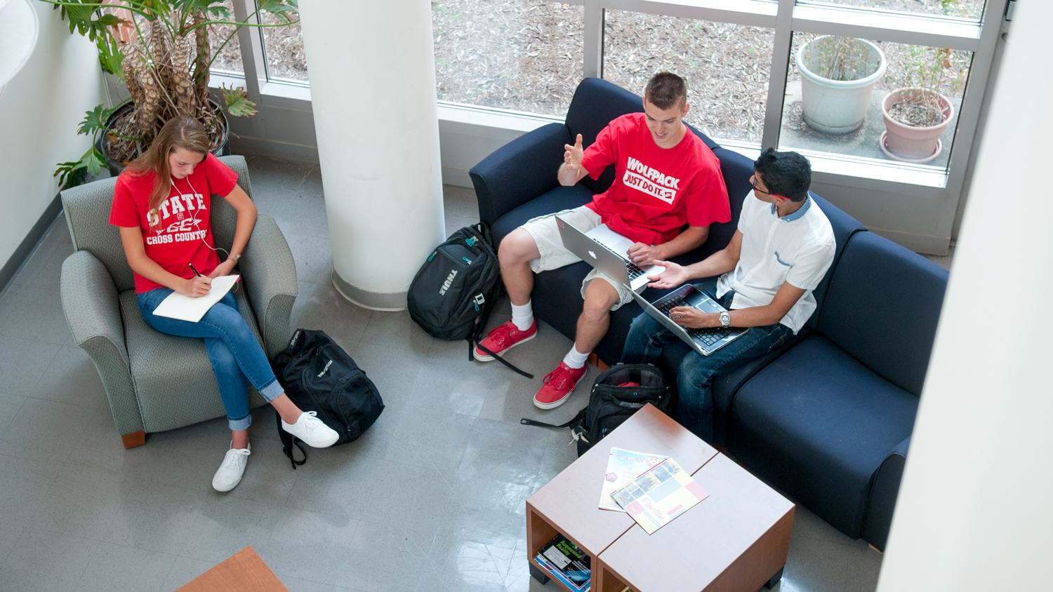 Students in the lounge - Admissions - College of Natural Resources at NCState University