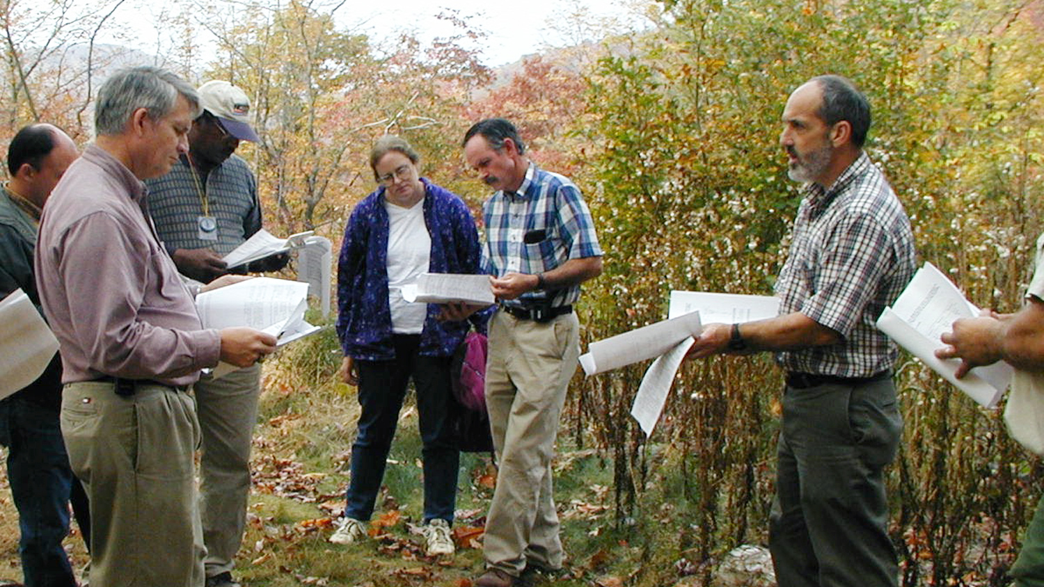 extension forestry in the field - Extension and Outreach - College of Natural Resources at NCState University