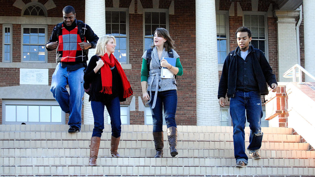 Students on campus - Graduate - College of Natural Resources at NCState University