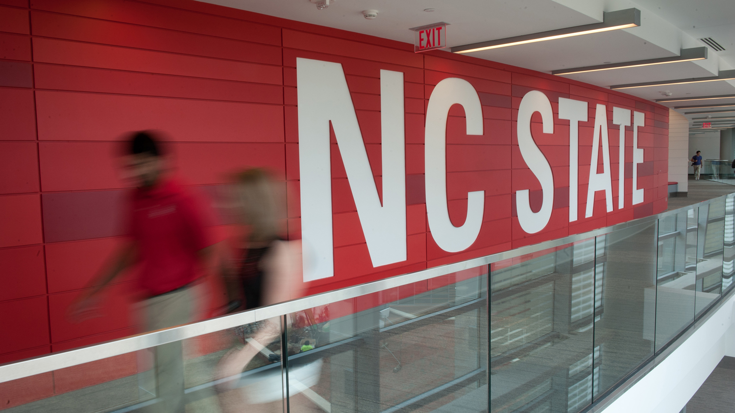 Tally union hallway - Academics - College of Natural Resources at NCState University