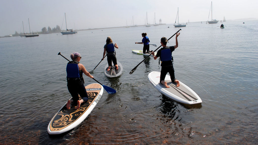 Paddleboarding - Professional Development - College of Natural Resources at NCState University