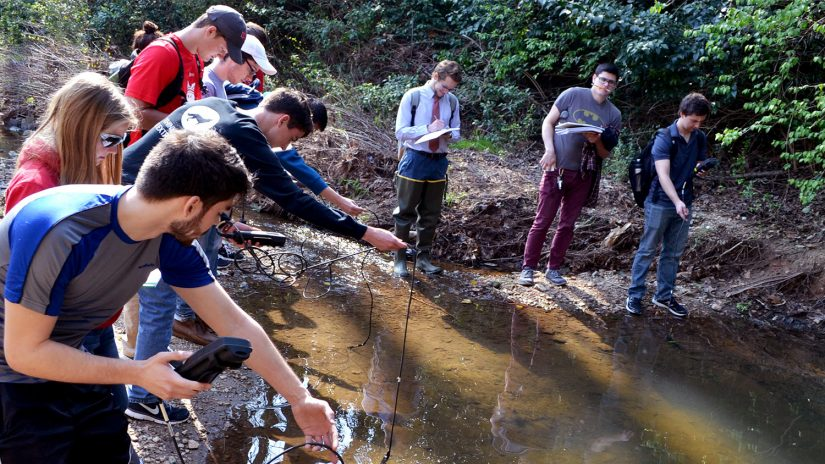 Studying a Pond - Environmental Technology and Management - College of Natural Resources at NCState University