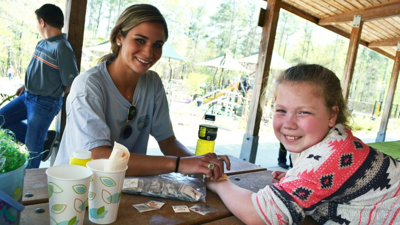 Temporary Tattoos in the Park - Parks, Recreation and Tourism Management - College of Natural Resources at NCState University