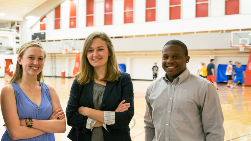 students in gym - Sport Management - College of Natural Resources at NCState University