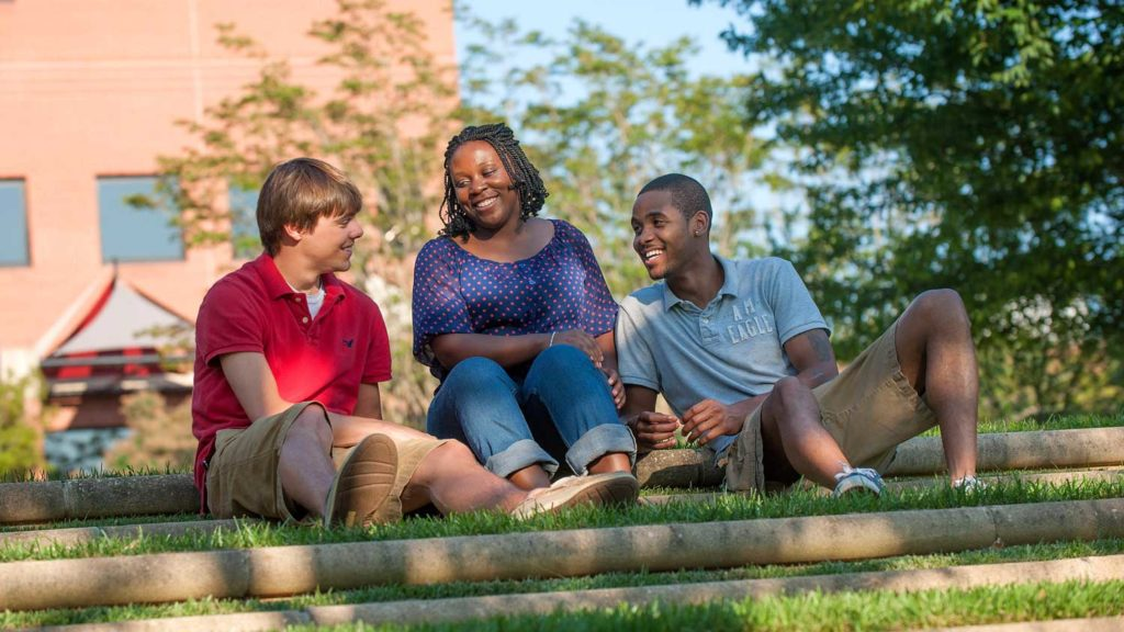 Students on campus - Diversity and Inclusion - College of Natural Resources NCState University