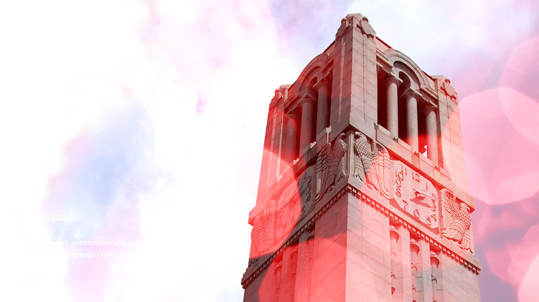 The NCState University Belltower - What Your Gifts Do - College of Natural Resources NCState University