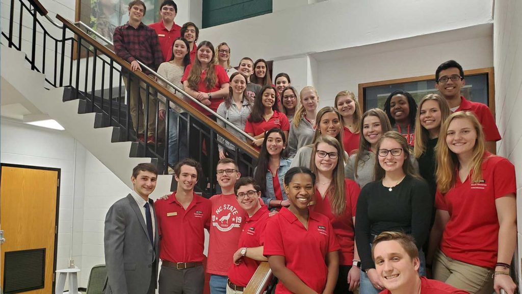 Join the Pack - Ambassadors - College of Natural Resources NCState University