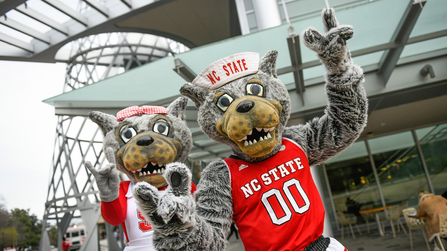 Mr. and Mrs. Wuf - CNR Virtual Admitted Student Event - College of Natural Resources NCState University