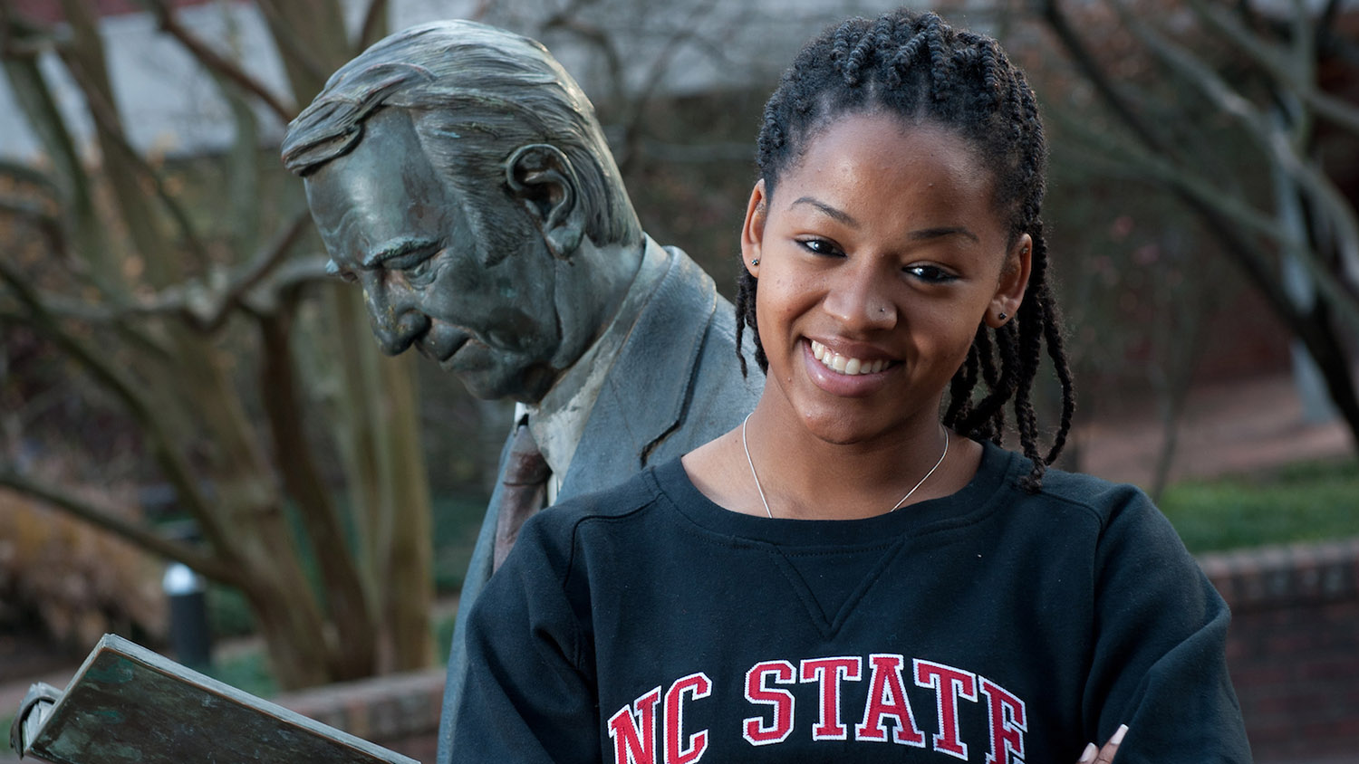 Student on Campus - CNR Virtual Admitted Student Event - College of Natural Resources NCState University