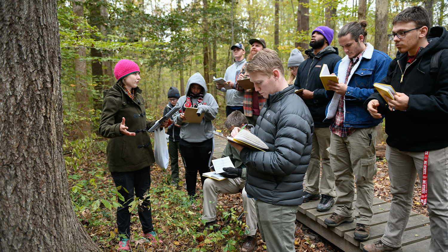 Students in the field- Career Connections - College of Natural Resources at NCState University