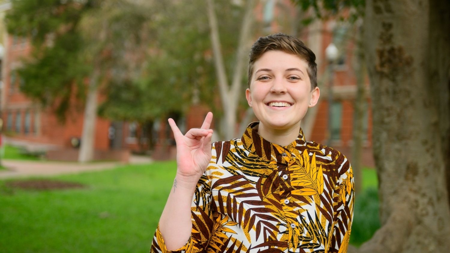 Cheyana Bassham Wolfpack Symbol - Graduation to Vocation: Protecting Aquatic Species through Freshwater Ecology -College of Natural Resources at NCState University